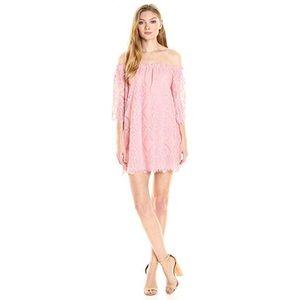 BB Dakota Rose Lace Dress - Large